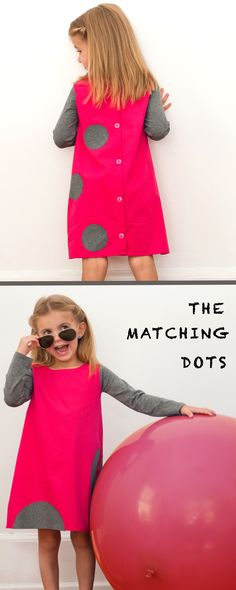 Designer Dotted Fashion! #kids #fashion #dress #dots #stripes BE SPOTTED. Gift ideas for little girls. Matching mommy and me and sisters. Made in USA. BE SPOTTED. UNMATCHED MATCHING FASHION www.thematchingdots.com