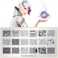moyou Nail Art design Image Plates - Sci Fi Collection #6. DO WANT.