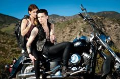 I Put A Spell on You: Andy Biersack & Juliet Simms by Kevin Liu Andy Black, Andy Biersack, Hot Couples, Famous Couples, Biker Dating Sites, Emo, Band Memes, Lady Biker, Black Veil Brides