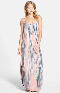 Gypsy 05 Tie Dye Bar Back Maxi Dress | Nordstrom