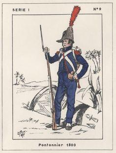 FRANCE - Napoleone in Egitto - Pantonierre, 1800