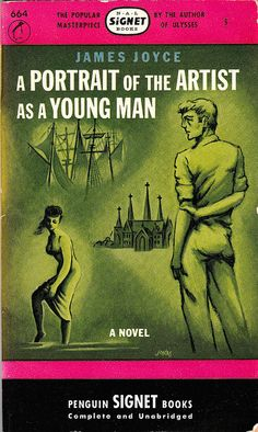 1946 paperback of Joyce's A Portrair of the Artist as a Young Man (originally pubilshed 1916)