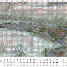 Stickerei-Regelung-Winterlandschaft (Riolis) 3 Von 4
