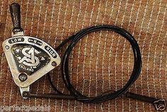 Vintage Sturmey Archer 3 Speed Brass Gear lever in Sporting Goods | eBay