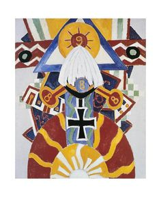 Marsden Hartley - Painting Number 49, Berline, 1914-15 - Art Prints from the Seattle Art Museum