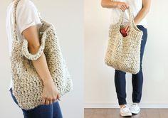Market Tote Bag Free Crochet Pattern