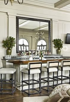 Another gorgeous bar! Piedmont Driving Club, Atlanta by Jackye Lanham Designs