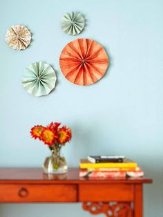 Wall Art Project: Pinwheels