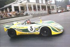 spa 1971 | Ballot-Lena distracted by something at La Source curve. He'll drive ...