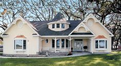Victorian Styling in a Small Package - 3820JA | Cottage, Victorian, Photo Gallery, 1st Floor Master Suite, CAD Available, PDF, Split Bedrooms | Architectural Designs