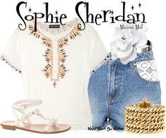 Inspired by Amanda Seyfried as Sophie Sheridan in 2008's Mamma Mia.