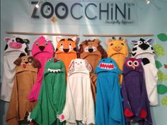 Zoocchini badcapes hooded towels
