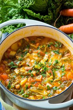 Learn secrets from Italian nonna to make the most delicious Minestrone Soup any time of the year!