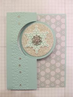 Thinlits Winter Frost Designer Series Paper Silver Glimmer Paper Festive Flurry stamp set and framelits bundle Frosted Finishes Embellishments Jewels