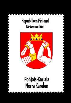 Republiken Finland • Itä-Suomen lääni  (Östra Finlands län) • Pohjois-Karjala - Norra Karelen