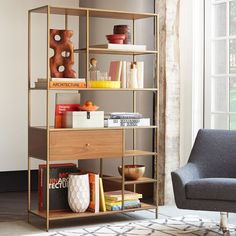 Entryway or east wall of dining room, also has smaller side pieces. Nook Wide Storage | west elm