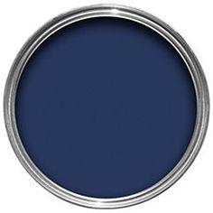 Dulux Weathershield Exterior Satin Paint Oxford Blue 750ml... front door colour!?