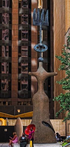 """CHICAGO, IL :: Miró's Chicago (Renamed from """"The Sun, The Moon, and One Star"""" / Artist Joan Miró) - by Sally Hunter on Flickr"""