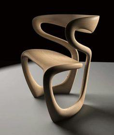 Superbe chaise en bois... ...