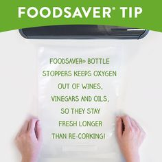 Foodsaver How Long Can You Save It? Crockpot Lasagna 34 Ways To Waste Less Food 7 Tips For Food Saver Newbies! Food Saver Vacuum Sealer, Fancy Cheese, Pantry Essentials, In Season Produce, Love Tips, Preserving Food, Bottle Stoppers, Baking Tips, Freezer Meals