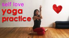 Power Yoga Flow for Self Love - YouTube