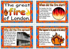 Great Fire of London 1666 Printable Posters The Fire Of London, Firefighter Crafts, Instant Display, London Poster, The Great Fire, School Classroom, Classroom Ideas, Home Learning, Home Schooling