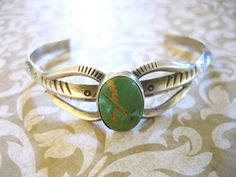 Vintage Sterling Silver Turquoise Southwestern by charmingellie, $39.00