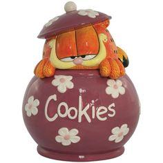 Westland Giftware Garfield  Cookies Cookie Jar,