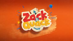 Styleframes proposal for Zack & Quack TV Show.