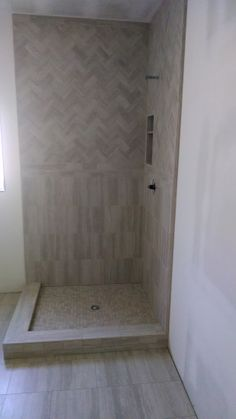 Guest bathroom tile going in for shower and flooring!