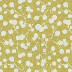 BURNET - THOM FILICIA FABRIC - CITRON - Indigo & Citron - Newest Fabric Collections - Fabric - Calico Corners