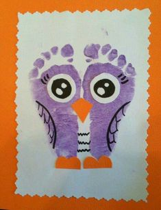 Check out these easy and fun Valentines crafts for kids to make - handprint art projects! You can buy all the supplies you need at your local dollar store - these would also make brilliant classroom valentines crafts for toddlers! Kids Crafts, Owl Crafts, Daycare Crafts, Animal Crafts, Baby Crafts, Toddler Crafts, Crafts To Do, Projects For Kids, Arts And Crafts