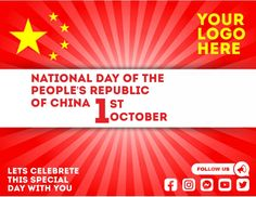 Customize this design with your video, photos and text. Easy to use online tools with thousands of stock photos, clipart and effects. Free downloads, great for printing and sharing online. Flyer (US Letter). Tags: china, national day of the republic of china, national day of the republic of china 1st october, republic of china, Event Flyers, Chinese New Year , Chinese New Year Chinese New Year Poster, New Years Poster, Event Flyers, Share Online, Beautiful Posters, New Year Celebration, Free Downloads, The Republic, Got Print