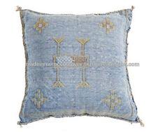 Pretty Moroccan Handwoven Cactus Silk Pillows