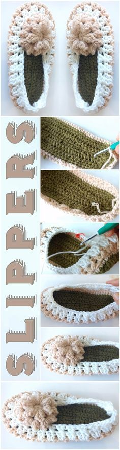 Crochet Cozy Slippers - Easy Tutorial