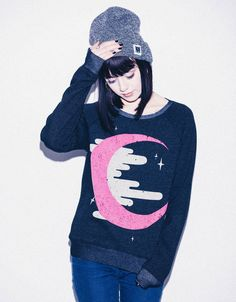 Midnight Crewneck - Drop Dead Clothing