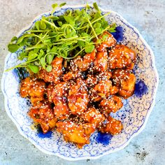 Air Fryer Sesame Chicken
