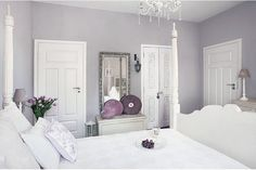 Little Emma English Home: A romantic white
