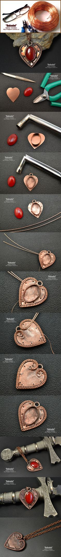 Кулон Wire Wrapping