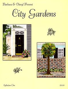 City Gardens Collection 1 - Cross Stitch Pattern