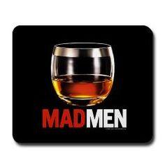 Mad Men Stiff One Mousepad > Mad Men Office Decor