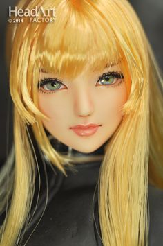"""Head Art Factory"" 1/6 HandPaint Custom Head ""AW425""for Obitsu/CY girl/Hot stuff"