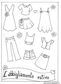 disegni, idee e lavoretti per la scuola dell'infanzia... e non solo Worksheets For Kids, Activities For Kids, Coloring Books, Coloring Pages, English Lessons For Kids, Diy Party Decorations, Primary School, Paper Dolls, Lesson Plans