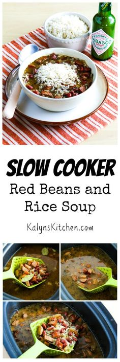 Cooker Red Beans and Rice Soup is one of my favorite slow cooker soups ...