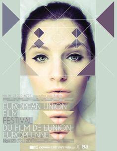 Poster — European union film festival on Behance