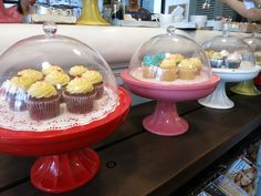 Hehehe. Cute cap cakes at Lusine in Ho Chi Minh.