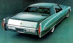 1971 Cadillac Coupe DeVille.  Unfortunately, engineering and build quality had been cast aside by 1971.