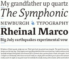 32 Best Modern Typefaces images in 2016 | Modern typeface