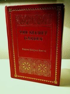Vintage Secret Garden Book