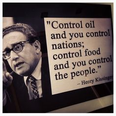 A misguided man, Henry Kissinger and the new world order